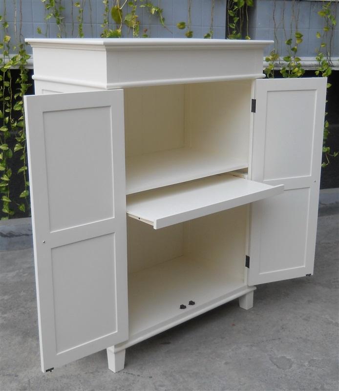 Computer kast - Bureau dans armoire ...
