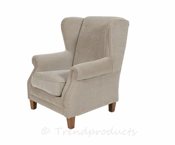 Brighton Chesterfield Wing Chair